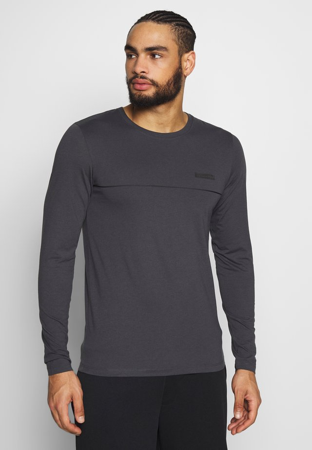 JCOZLS TEE - Long sleeved top - asphalt