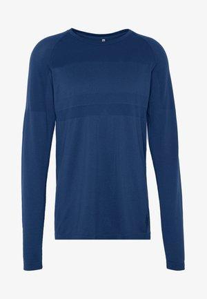 JCOZLS SEAMLESS TEE - Langærmede T-shirts - sky captain