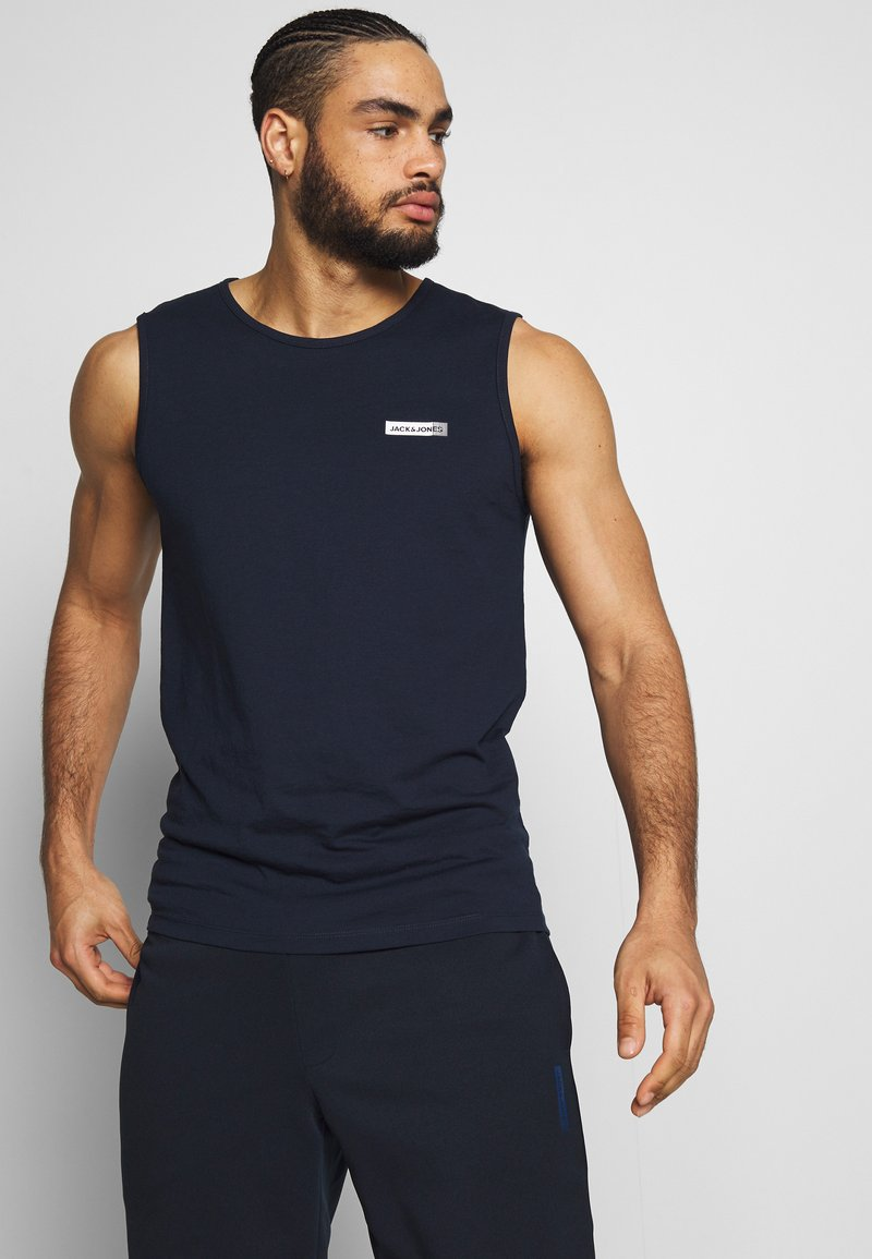 Jack & Jones Performance - JCOZSLEEVELESS - Top - sky captain