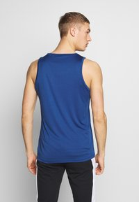 Jack & Jones Performance - JCOZPERFORMANCE TANK - Top - navy peony - 2