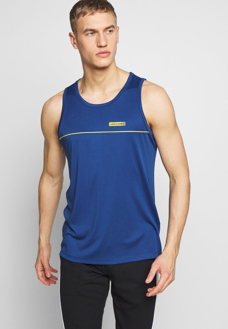 Jack & Jones Performance - JCOZPERFORMANCE TANK - Top - navy peony