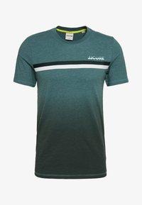 Jack & Jones - JCOFADE TEE CREW NECK - Print T-shirt - north atlantic - 0