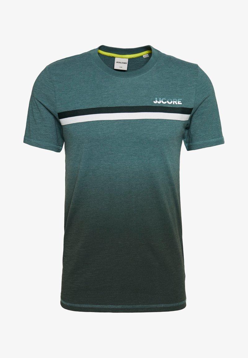 Jack & Jones - JCOFADE TEE CREW NECK - Print T-shirt - north atlantic