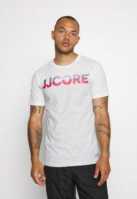 Jack & Jones - JCOSTALLY  - Print T-shirt - white - 0