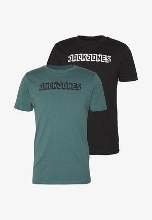 JCOPHANTOM TEE CREW NECK 2 PACK - Print T-shirt - north atlantic