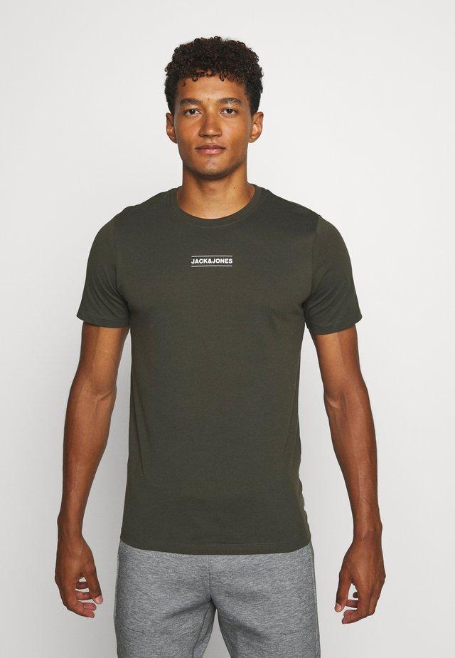 JCOTULIP TEE - T-Shirt print - forest night