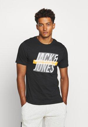 JCOLINE TEE CREW  NECK - Print T-shirt - black