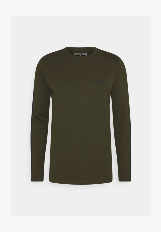 JCOZ SPORT TEE - Long sleeved top - forest night