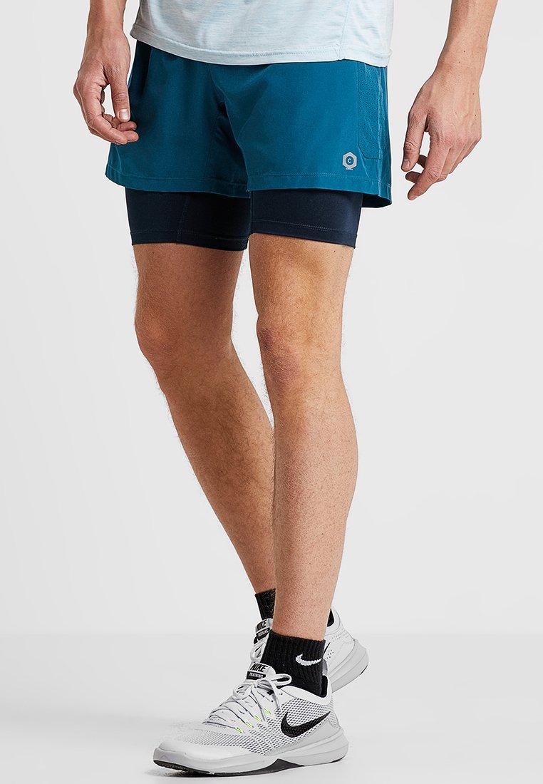 Jack & Jones - JCOSUBT 2IN1 SHORTS - Pantaloncini sportivi - blue coral
