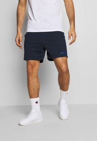 Jack & Jones Performance - JJIZSWEAT SHORT - Sports shorts - sky captain - 0
