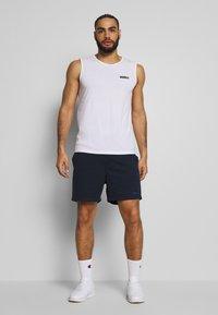 Jack & Jones Performance - JJIZSWEAT SHORT - Sports shorts - sky captain - 1