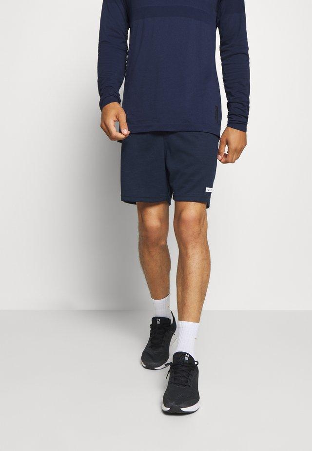 JJIZSWEAT SHORT - Short de sport - navy blazer