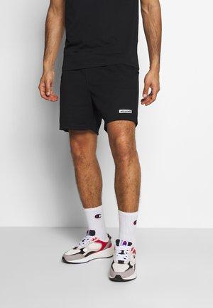 JJIZSWEAT SHORT - kurze Sporthose - black
