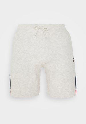 JJISPRINT - Korte broeken - white melange