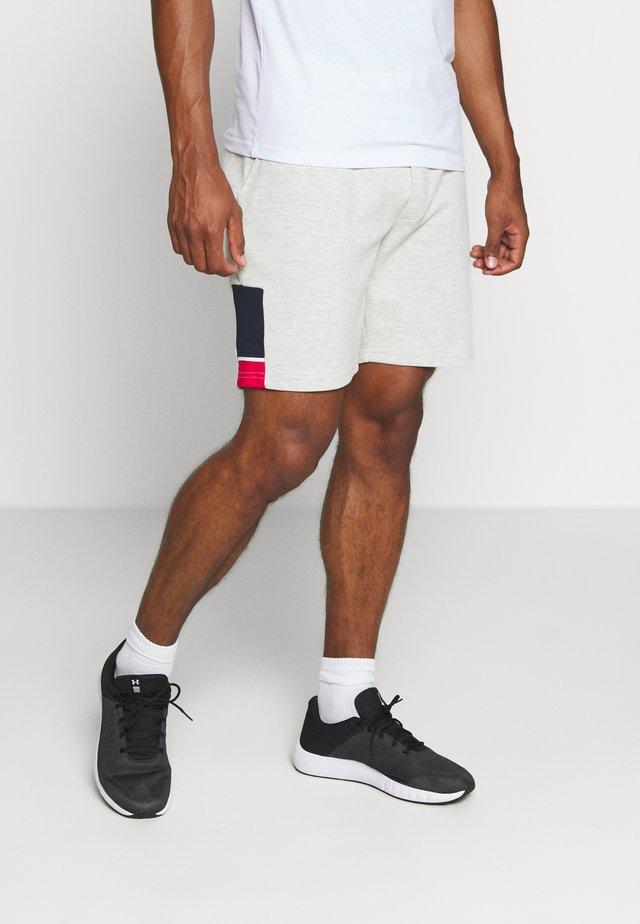 JJISPRINT SHORT - Sports shorts - white melange