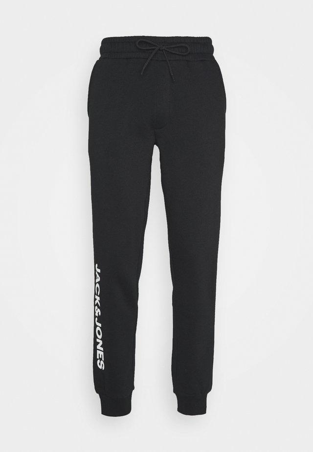 JJIGORDON SIDE SOFT PANTS - Tracksuit bottoms - black