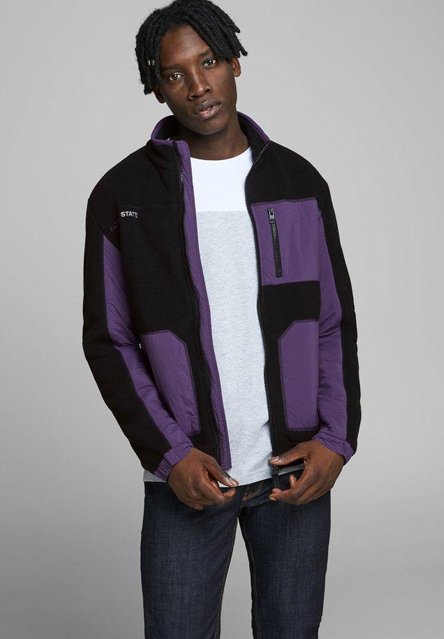 JCODRUM JACKET - Fleece jacket - purple velvet