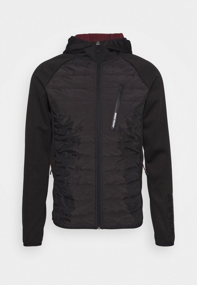 JCOTOBY TWIST HYBRID JACKET - Training jacket - black