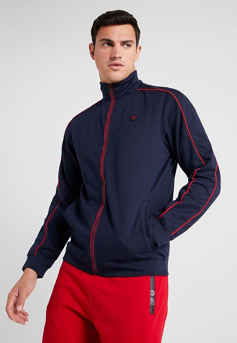 Jack & Jones - JCOGAME TRACK JACKET - Zip-up hoodie - maritime blue