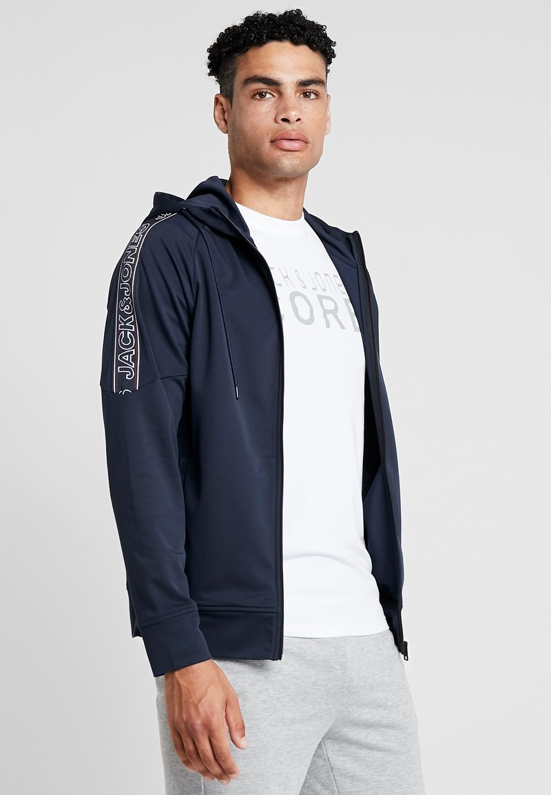 Jack & Jones - JCOCOMBINE - Trainingsjacke - sky captain