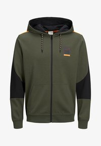 Jack & Jones - JCOJOEY - veste en sweat zippée - forest night - 6
