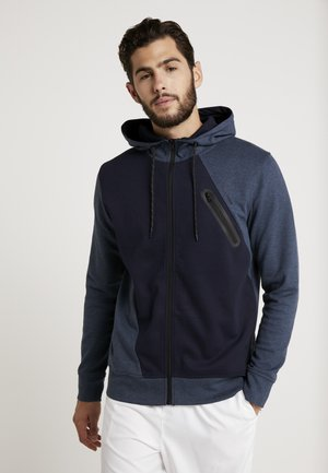 JCOGLORIA ZIP HOOD - veste en sweat zippée - china blue/melange
