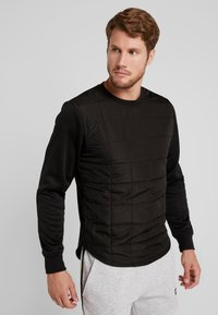Jack & Jones - JCOCOUNT CREW NECK - Sweater - black - 0