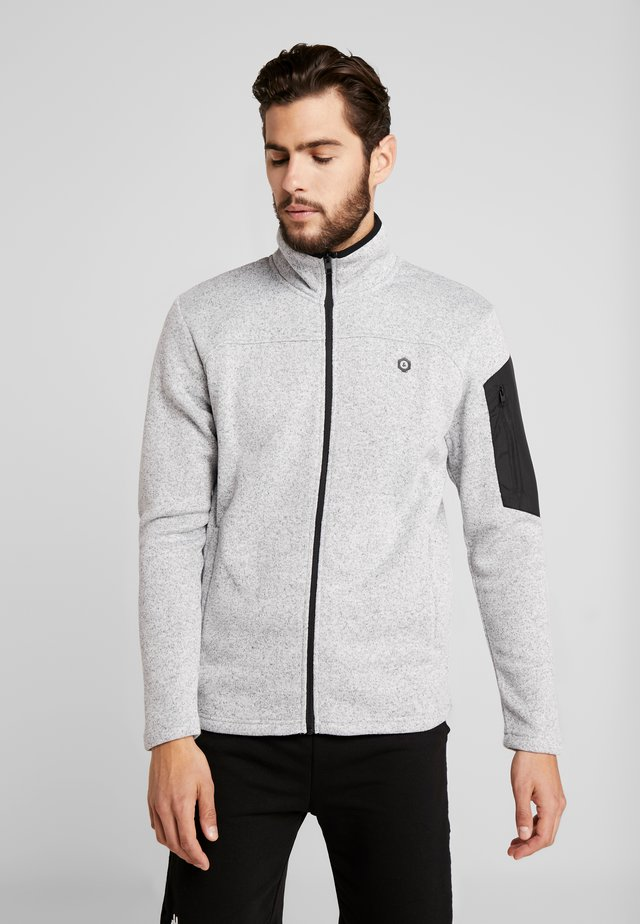 JCOFRANKLINS HOOD - Fleece jacket - light grey melange