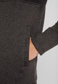 Jack & Jones - JCOFRANKLINS HOOD - Fleecová bunda - dark grey melange - 3