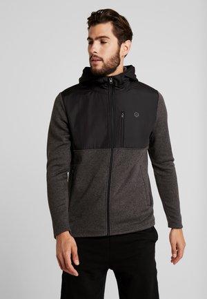 JCOFRANKLINS HOOD - Fleecová bunda - dark grey melange