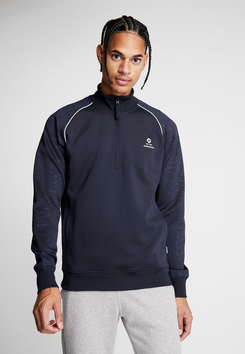 Jack & Jones - JCOEAGLE TRACK - Sweater - sky captain