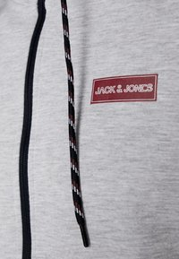 Jack & Jones - JCOISLAND ZIP HOOD - Hoodie met rits - light grey melange - 6