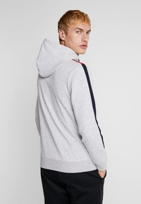 Jack & Jones - JCOISLAND ZIP HOOD - Hoodie met rits - light grey melange - 2