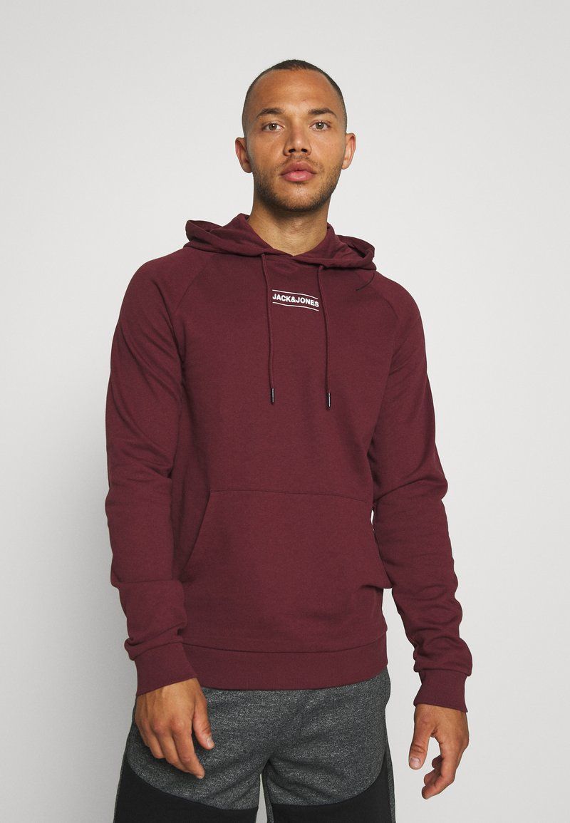 Jack & Jones - JCOTULIP HOOD - Sweat à capuche - port royale