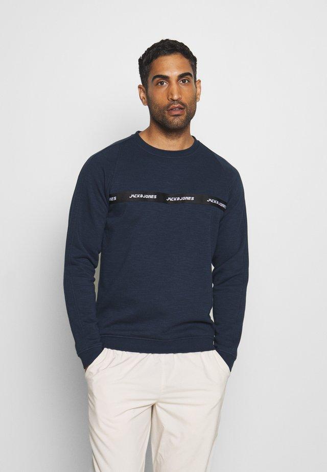 JCOTRAIN CREW NECK - Sweatshirt - navy blazer/melange