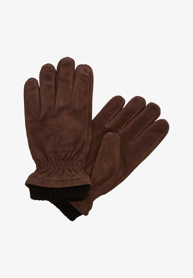 JACVINNY GLOVE - Fingervantar - brown stone