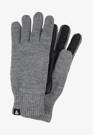 JACRYAN GLOVES - Guantes - grey melange