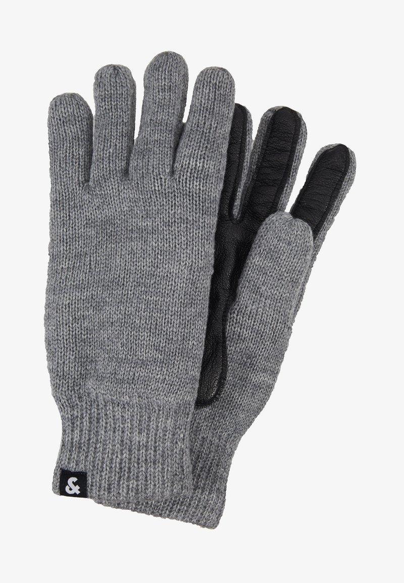 Jack & Jones - JACRYAN GLOVES - Gloves - grey melange