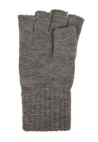 Jack & Jones - JACHENRY FINGERLESS GLOVES - Fingerless gloves - grey melange - 2