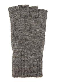 Jack & Jones - JACHENRY FINGERLESS GLOVES - Fingerless gloves - grey melange - 1