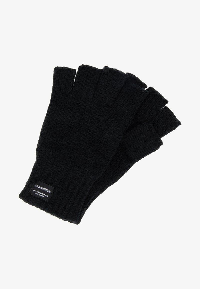 Jack & Jones - JACHENRY FINGERLESS GLOVES - Fingerless gloves - black