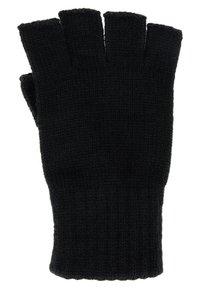 Jack & Jones - JACHENRY FINGERLESS GLOVES - Fingerless gloves - black - 1