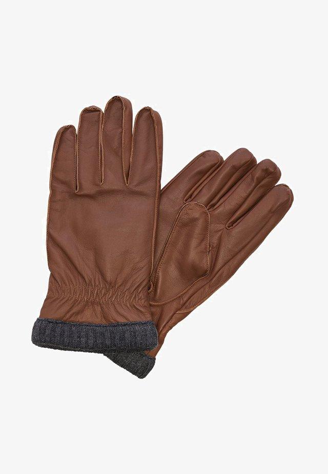 Handschoenen - cognac
