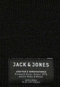 Jack & Jones - JJDNA BEANIE - Čepice - black - 5