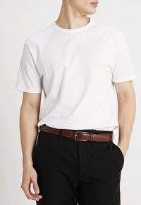 Jack & Jones - JACCHRISTOPHER BELT - Vyö - cognac - 1