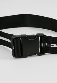 Jack & Jones - JACTEXT LOGO BELT - Pásek - black - 4