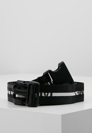 JACTEXT LOGO BELT - Ceinture - black