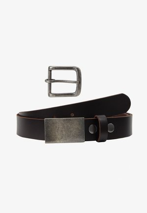 JACJERRY BELT GIFTBOX - Riem - black coffee