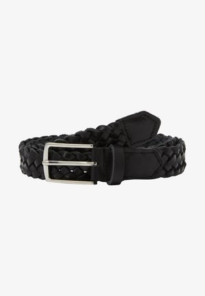JACCOLE BRAIDED BELT - Gürtel - black