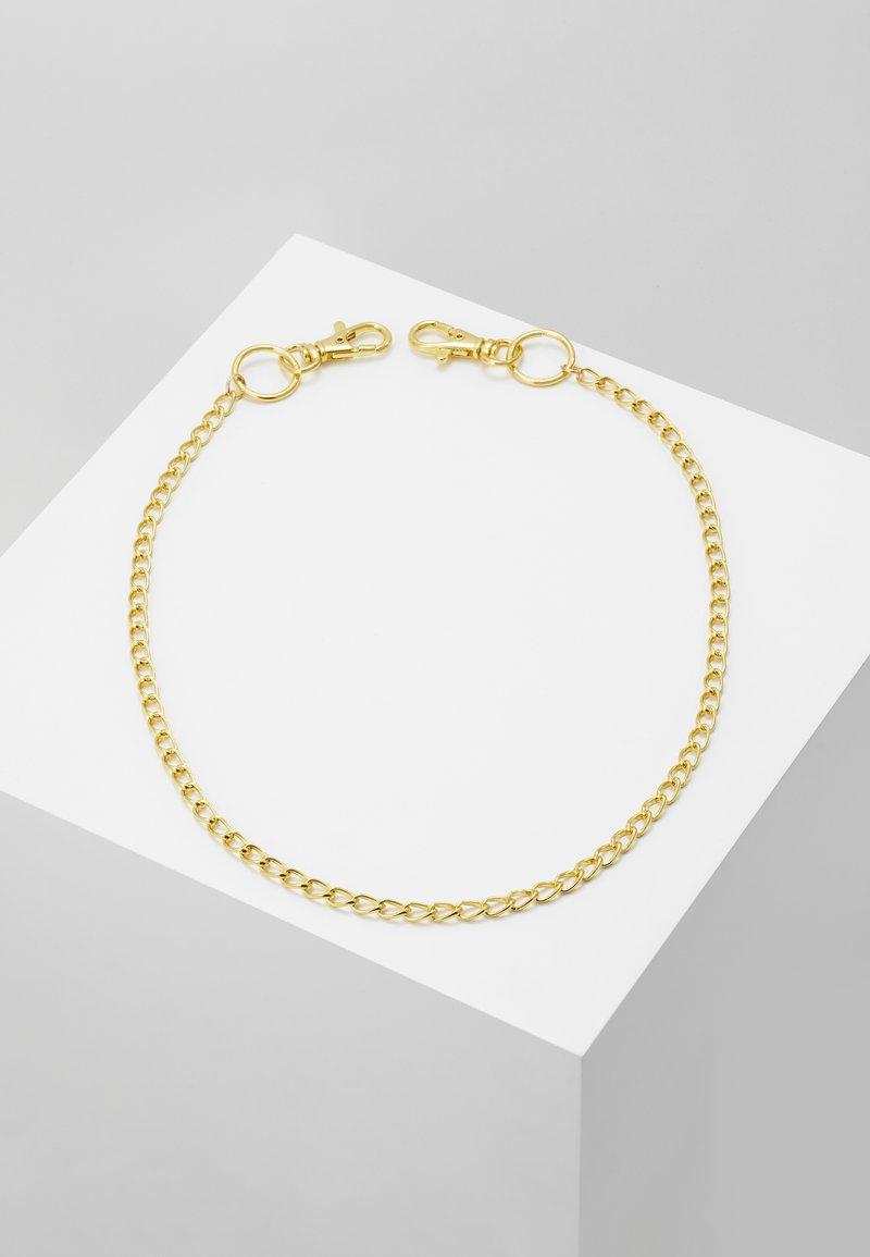 Jack & Jones - JACTOM CHAIN - Schlüsselanhänger - gold-coloured